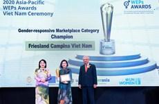 FrieslandCampina Việt Nam nhận giải thưởng về trao quyền cho phụ nữ