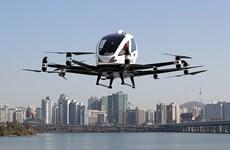 [Video] Thử nghiệm loại hình taxi bay bằng drone đầu tiên tại Hàn Quốc