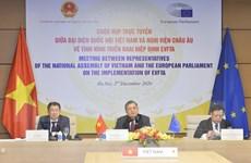 EVFTA: Tăng cường hợp tác giữa Quốc hội Việt Nam và Nghị viện châu Âu