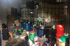 TP. Hồ Chí Minh: Khởi tố đường dây sản xuất, buôn bán dầu nhớt giả