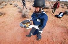 Khoang chứa mẫu đất tiểu hành tinh Ryugu được vận chuyển về Nhật Bản