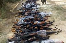 Iraq phát hiện kho vũ khí của IS ở phía Bắc thủ đô Baghdad