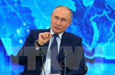 Tổng thống Vladimir Putin hâm nóng cuộc bầu cử Duma Quốc gia Nga