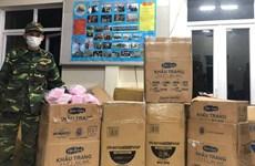 Quảng Trị phát hiện 2 vụ vận chuyển hơn 140.000 khẩu trang trái phép