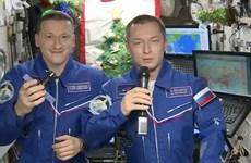 Các phi hành gia từ trạm ISS gửi lời chúc mừng Năm mới tới Trái Đất