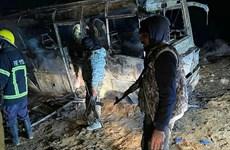 Syria: Tấn công nhằm vào đoàn xe chở binh sỹ, gần 30 người thiệt mạng