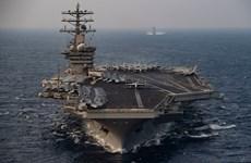 Mỹ rút tàu sân bay khỏi Trung Đông, giảm leo thang căng thẳng với Iran