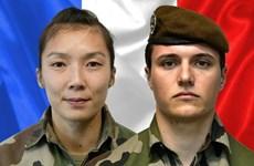 Nữ binh sỹ Pháp đầu tiên bị sát hại trong vụ gài bom ven đường ở Mali