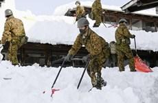 Tuyết rơi dày làm gián đoạn giao thông ở Nhật Bản và Tây Ban Nha