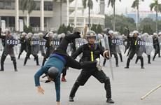 [Video] Xuất quân, diễn tập phương án bảo vệ Đại hội thứ XIII của Đảng