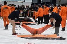 Indonesia đẩy nhanh việc nhận dạng thi thể nạn nhân vụ rơi máy bay