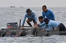 Indonesia xác định được vị trí hộp đen máy bay Sriwijaya Air gặp nạn