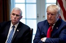 Tổng thống Trump gặp Phó Tổng thống Pence sau vụ bạo loạn Quốc hội Mỹ