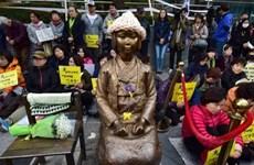"""Nhật Bản cân nhắc đáp trả phán quyết của Hàn Quốc về """"phụ nữ mua vui"""""""
