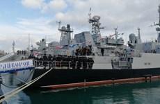 Nga: Hạm đội Biển Đen tiếp nhận tàu tên lửa thứ 4 thuộc Dự án 21631