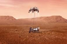 Khoảng khắc tàu thăm dò Perseverance của NASA hạ cánh xuống Sao Hỏa