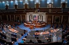 """Gói cứu trợ 1.900 tỷ USD vượt """"ải"""" Hạ viện Mỹ với cách biệt sít sao"""