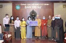 TP.HCM: Giáo hội Phật giáo Việt Nam ủng hộ 1 tỷ đồng mua vaccine