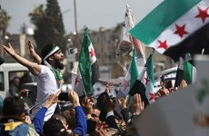 [Video] Hàng nghìn người biểu tình đánh dấu 10 năm xung đột tại Syria