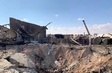 Căn cứ quân sự Iraq nơi quân Mỹ từng đồn trú bị tấn công bằng rocket