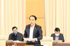 Ủy ban Pháp luật của Quốc hội thẩm tra báo cáo tổng kết của Chính phủ
