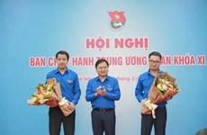 Ban Chấp hành Trung ương Đoàn bầu bổ sung 2 tân Bí thư cùng tuổi 37