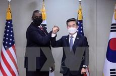 Bộ Quốc phòng Hàn Quốc cam kết tăng cường hợp tác an ninh với Nhật Bản