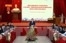 Bí thư Hà Nội: Thanh Oai cần tạo nền tảng để sớm phát triển thành quận