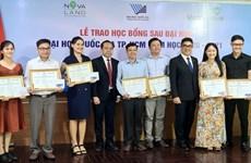 Novaland trao 31 học bổng cho học viên, nghiên cứu sinh ĐHQG TP.HCM