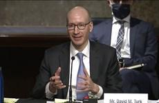 Mỹ: Thượng viện phê chuẩn Thứ trưởng Bộ Năng lượng và Bộ Y tế