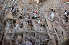 Phát hiện 18 thi thể trong vụ sập nhà cao tầng ở thủ đô Cairo