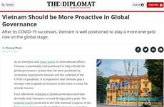 The Diplomat: Tham gia quản trị toàn cầu giúp Việt Nam nâng cao vị thế