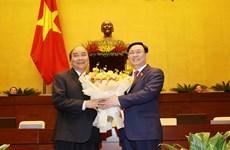 [Video] Trình Quốc hội miễn nhiệm Thủ tướng Chính phủ Nguyễn Xuân Phúc
