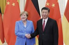 Chủ tịch Trung Quốc đề nghị Đức, EU hợp tác thúc đẩy quan hệ
