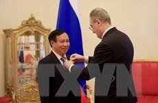 Vinh danh Đại sứ Việt Nam tại Nga vì đóng góp cho quan hệ song phương