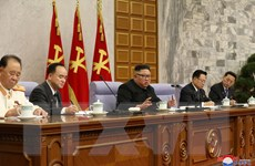 Ông Kim Jong-un chỉ đạo công tác phát triển đảng Lao động Triều Tiên