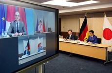 Đức và Nhật Bản lần đầu tổ chức đối thoại quốc phòng, ngoại giao 2+2
