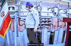 Iran thông báo bắt đầu làm giàu urani ở mức nguy hiểm 60%