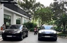 Hà Nội: Khẩn trương xác minh chủ nhân chiếc xe Porsche đeo biển giả