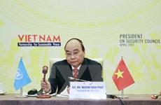 Chủ tịch nước chủ trì Phiên thảo luận mở cấp cao của HĐBA LHQ