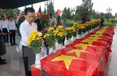 Đà Nẵng truy điệu, an táng 14 hài cốt liệt sỹ Tiểu đoàn Đặc công 89