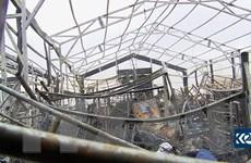 Căn cứ không quân Iraq có binh sỹ Mỹ đồn trú trúng tên lửa