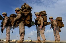 Lực lượng Mỹ tại Afghanistan bàn giao căn cứ cho quân đội sở tại