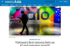 """Truyền thông Nhật Bản đánh giá về """"kỳ lân"""" công nghệ đầu tiên Việt Nam"""