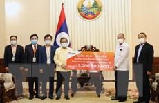 Doanh nghiệp Việt tại Lào chung tay cùng chính quyền phòng, chống dịch