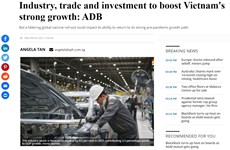 ADB dự báo kinh tế Việt Nam tăng trưởng mạnh mẽ và vững chắc