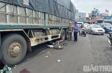 Đắk Lắk: Xe tải va chạm với xe máy, một học sinh lớp 12 tử vong