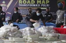 """Indonesia thu giữ hơn 581 kg ma túy đá từ vùng """"Tam giác Vàng"""""""