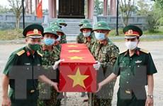 Thừa Thiên-Huế đón nhận, quy tập 14 hài cốt liệt sỹ hy sinh tại Lào