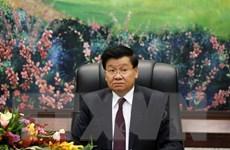 Tổng Bí thư, Chủ tịch nước Lào cảm ơn Việt Nam giúp đỡ chống dịch